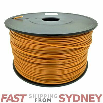 3D Printer Filament ABS 1.75mm Gold 1kg Roll, FAST shipping SYDNEY