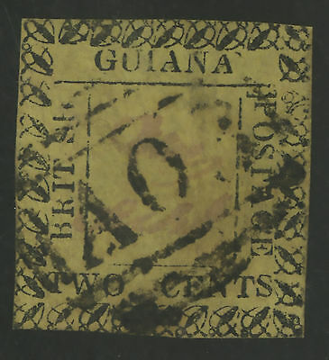 British Guiana  1862  Scott #  38  USED