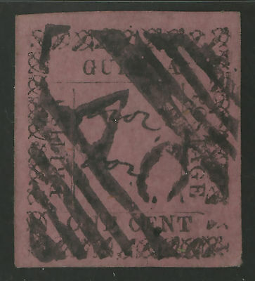 British Guiana  1862  Scott #  37  USED