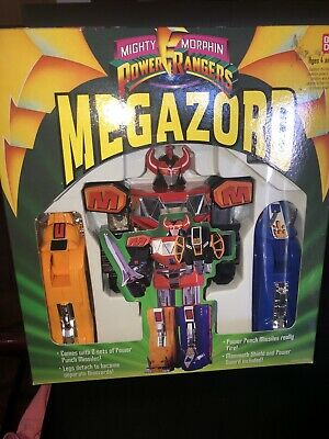 Megazord Mighty Morphin Power Rangers Power Punch Action Figure Toy