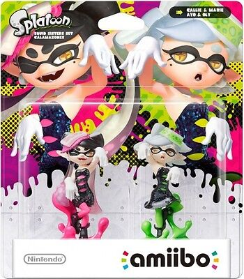 Amiibo Splatoon Squid Sisters Pack  - Wii UBRAND NEW