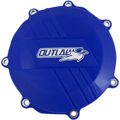 Outlaw Racing New Yamaha YZ450F 2010-2016 Blue Dirt Bike Clutch Cover Protector