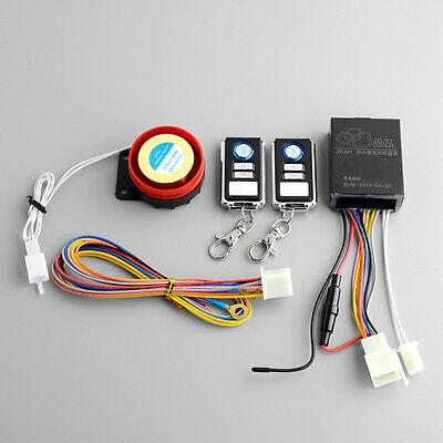 Motorcycle Bike Anti-theft Security Safety Remote Control Alarm System For Honda