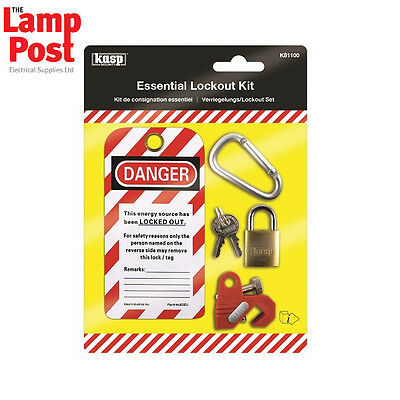 CK Tools K81100 KASP Essential Lockout Kit for MCBs Circuit Breakers