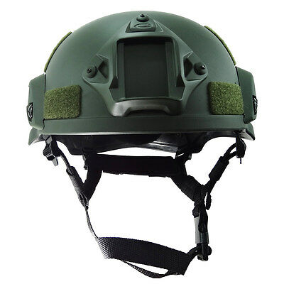 Outdoor Airsoft Military Tactical Combat Riding Hunting MICH2000 Helmet