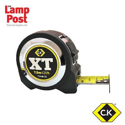CK Tools T3448 25 - 7.5m / 25ft XT Extra Tape Tape Measure
