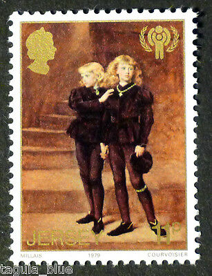 """""""The Princes in the Tower"""" illustrated on 1979 stamp - U/M"""
