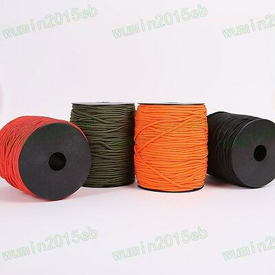 Camping Tent Coyote Army Military 100m Paracord Reel 3mm Rope Para Cord 4 Colors