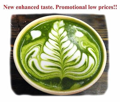 MATCHA GREEN TEA POWDER/ Pure 100% ORGANIC Up To 200 Serves