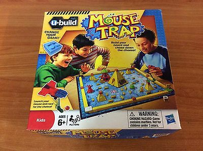 2010 Board Game - Mouse Trap U-Build  - 100% complete