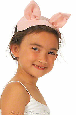 Kids Pig Costume Ears and Tail Fancy Dress Piglet World Book Day Farm Animal