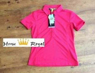Anky Reitshirt / Funktionsshirt ATC Ladies Short Sleeve Polo fuchsia