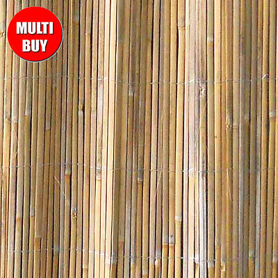 BAMBOO SCREENING ROLL Outdoor Garden Fence Panel Privacy Decorative Screen