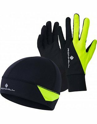 Ronhill Additions Beanie Hat & Glove Set Running & Outdoor Warm Thermal Wear