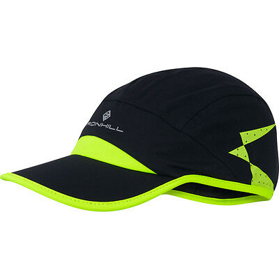 Ronhill Additions Storm Cap Aqualite Fabric Light Running Sports Peak Hat