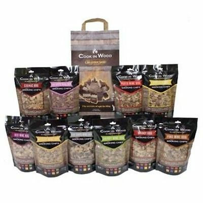 Cook In Wood Smoking Chips for all BBQ Smokers *Loads of Flavours!*