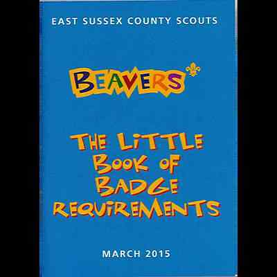 Beaver Little Book Of Badge Requirements 2015**great Item **