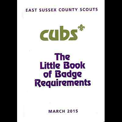 Cub Little Book Of Badge Requirements 2015**great Item **