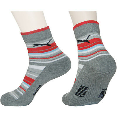 3 / 6 Pairs Mens Striped Outdoor Athletic Sports Hiking  Trekking SOCKS -S Size