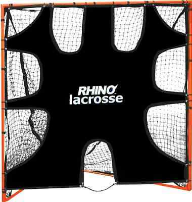 Champion Sports Lacrosse Goal Target 6 x 6 feet with 9 Target Zones All Weather