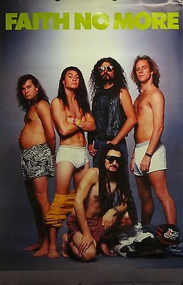 Faith No More 23x35 Fat Bastards Group Music Poster Epic
