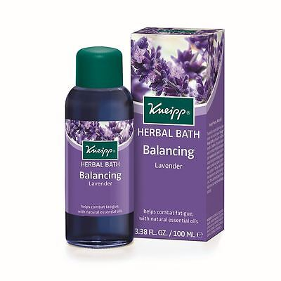 Kneipp Lavender Balancing Herbal Bath Oil 100ml