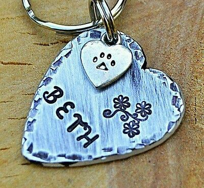 Custom Engraved Dog Tags Pet ID Tags Cat ID Tags -personalized Heart