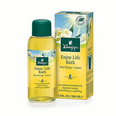 Kneipp Lemon & May Chang Enjoy Life Herbal Bath Oil 100ml