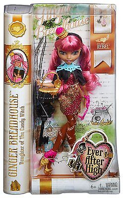 Ever After High Rebel Ginger Breadhouse Doll - Brand New