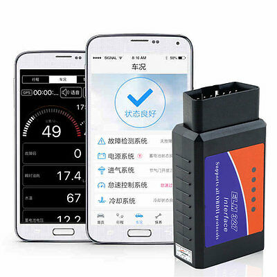 ELM327 OBDII OBD2 Bluetooth Auto Car Diagnostic Interface Scanner XC