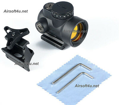New Airsoft TJ MRO In Black Red Dot Sight 2.0 MOA Matte