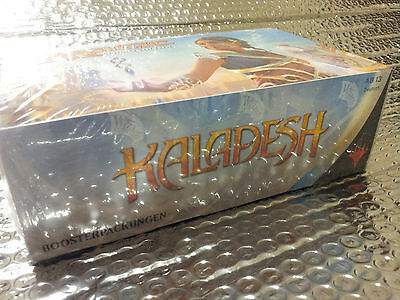 GERMAN Magic MTG Kaladesh KLD Factory Sealed Booster Box Display the Gathering