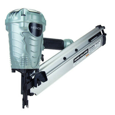 Hitachi 35-Degree Paper Collated 3-1/2 in. Strip Framing Nailer NR90AD(S1) new