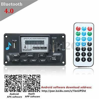 Digital LED Bluetooth 4.0 Audio Receiver APE FLAC WAV WMA MP3 Decode Board 12V