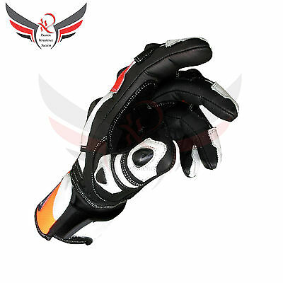 Honda Motorbike Gloves Leather Repsol Motorcycle Gloves Racing Suits Large Size