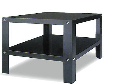 EQ PT6292 Pizza Oven Bench Table 36.8x40.8x 36 Black Stainless Steel Stand Shelf