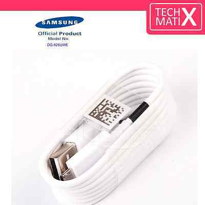 New Genuine Samsung Galaxy S6 Edge+S7 Note 5/4 Fast Charger USB Data Cable Lead