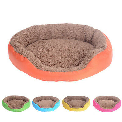 Relex Soft Flannel Pet Dog Puppy Cat Warm Bed House Plush Cozy Nest Sofa Mat New