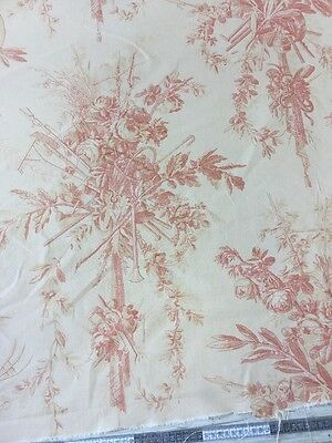 Beaumont & Fletcher Combray Printed Cotton Fabric By The Metre