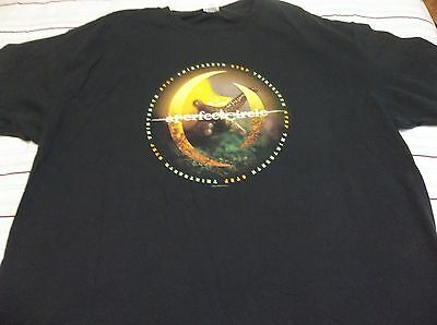"2003 A PERFECT CIRCLE ""STEP THIRTEENTH"" Concert Tour ADULT 2XL T-Shirt"