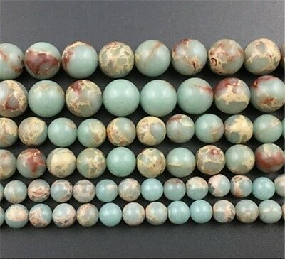 4mm/6mm/8mm/10mm Natural Snake Jasper Round Loose Beads Choose Quantity