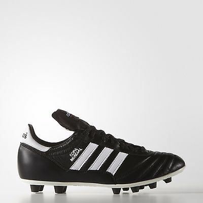 Adidas Copa Mundial Cleats (015110) Made in Germany Black Leather