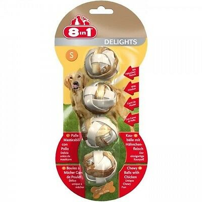 8in1 Friandise chien Delights Balles Sx4