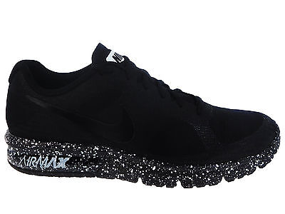 New Mens Nike Air Max Sequent Running Shoes Trainers Black / White