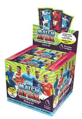 Topps Epl Match Attax 2016/17 Trading Cards - Full Box Of 50 Packets