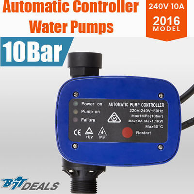 Automatic Pressure Switch Electric  10 Bar 10Amp Water Pump Controller Electroni