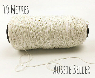 10m 100% Natural Cotton 12 ply Bakers Twine Cord DIY Crafts Decor Wedding String