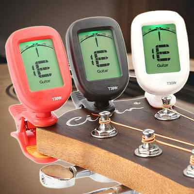 Clip-on LCD Electronic Digital Acoustic Guitar Violin Bass Ukulele Tuner