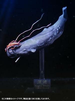 Japan X-PLUS Wonder of wild series Sperm Whale & Giant Squid Complete Figure New