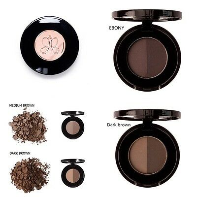 Anastasia Beverly Hills BROW POWDER DUO Full Size Dark Brown Makeup Eyebrow